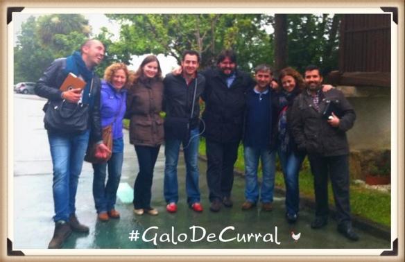 Foto grupo blogtrip #GaloDeCurral