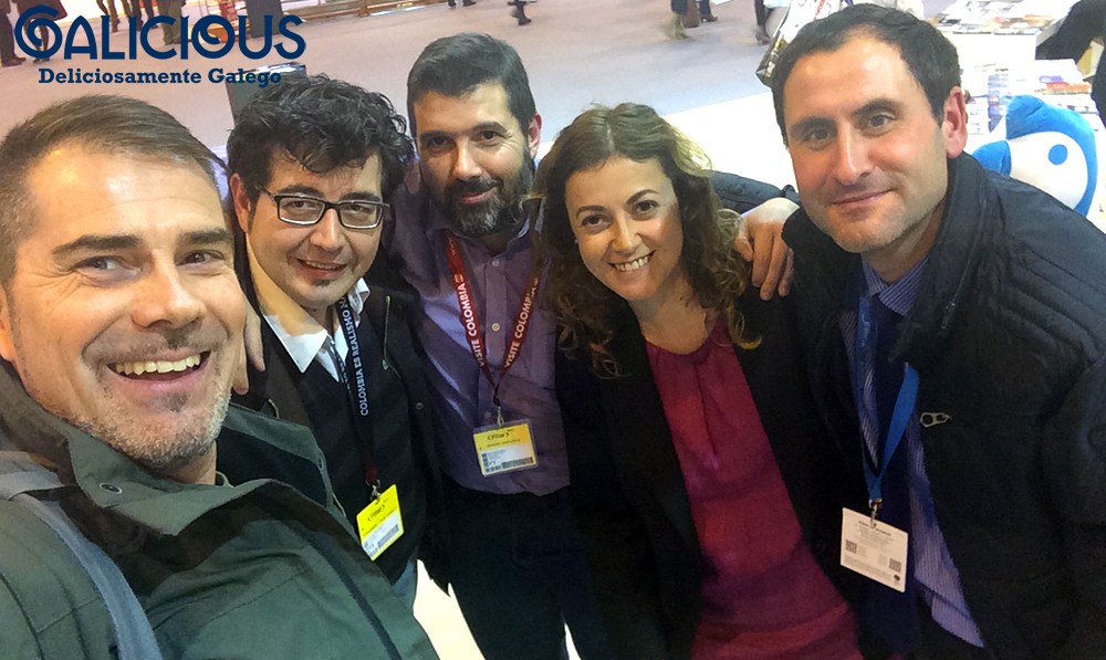 Fitur 2014 con Diego, Frenchy , Fidel y Javi