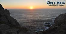 Puesta de sol en Cabo Vilan